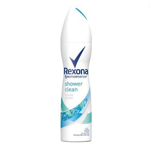 Rexona Deodorant ve spreji Shower Clean (Deo Spray) 150 ml