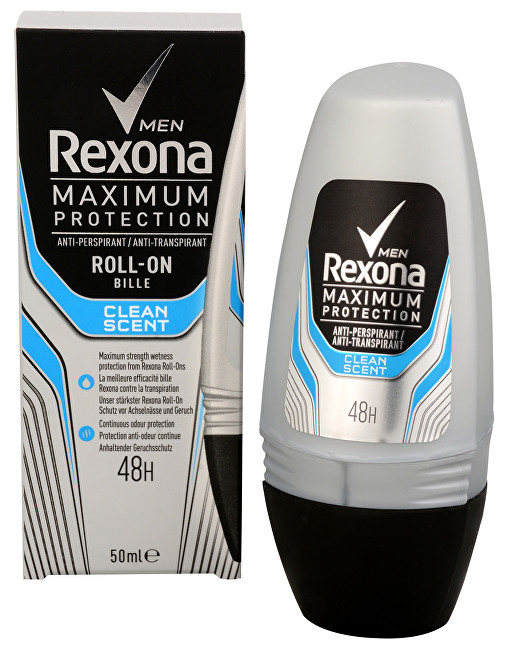 Rexona Antiperspirant pentru bărbaţi roll-on Men Clinical Clean Scent 50 ml