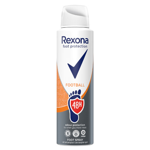 Rexona Sprej na nohy Football Foot Spray 150 ml