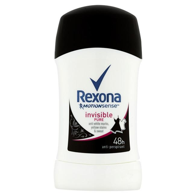 Rexona Tuhý deodorant Motionsense Invisible Pure 40 ml