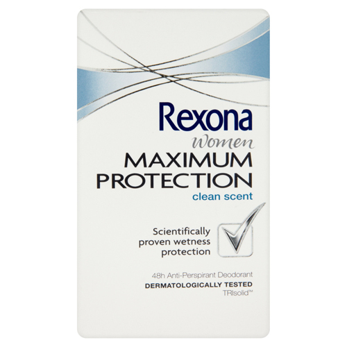 Rexona Tuhý deodorant Women Maximum Protection Clean Scent 45 ml