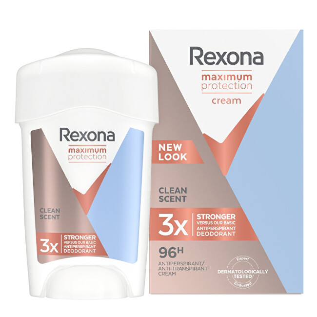 Rexona Tuhý dezodorant Women Maximum Protection Clean Scent 45 ml