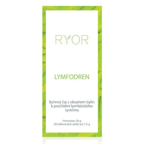RYOR Bylinný čaj Lymfodren 20 x 1,5 g