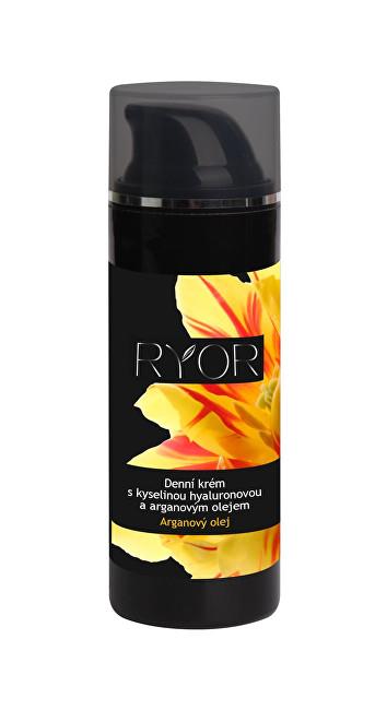 RYOR Denní krém s kyselinou hyaluronovou a arganovým olejem 50 ml