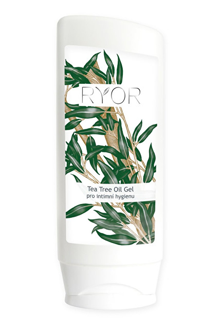 RYOR Gél na intímnu hygienu Tea Tree Oil 200 ml