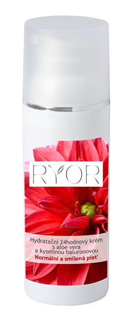RYOR Hydratační 24hodinový krém s aloe vera a kyselinou hyaluronovou 50 ml