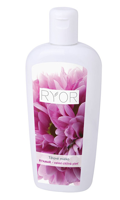 RYOR Tělové mléko s amarantovým olejem pro velmi citlivou pokožku Ryamar 300 ml
