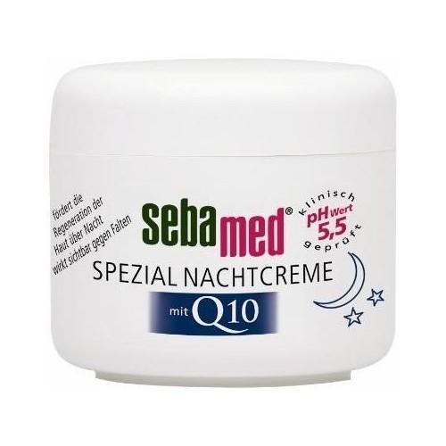 Sebamed Noční krém s Q10 Anti-Ageing (Spezial Nachtcreme)75 ml