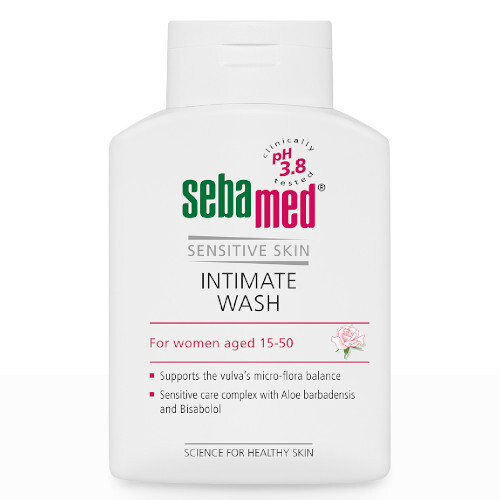 Sebamed Intimní mycí emulze s pH 38 Classic Feminine Intimate Wash Sensitive 2 x 200 ml