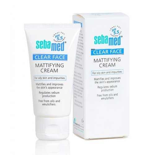 Sebamed Zmatňujúci krém Clear Face (Mattifying Cream) 50 ml