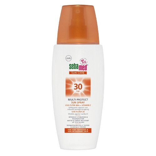 Sebamed Opaľovací sprej SPF 30 Sun Care(Multi Protect Sun Spray) 150 ml