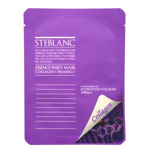 Steblanc Pleťová maska pro vypnutí pleti Kolagen (Essence Sheet Mask Collagen) 20 g