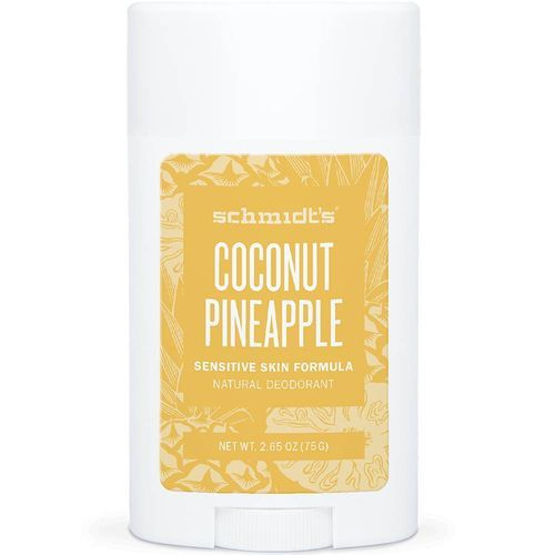 Schmidt´s Deodorant v tyčince pro citlivou pokožku Sensitive Coconut Pineapple (Deo Stick) 58 ml
