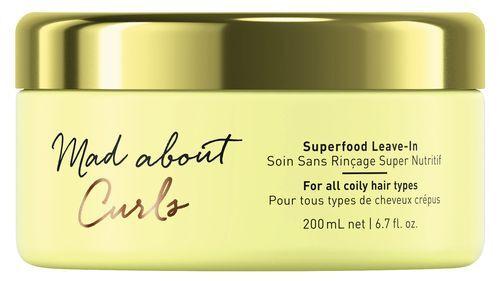 Schwarzkopf Professional Bezoplachová kúra pro kudrnaté vlasy Mad Abouth Curls (Superfood Leave-In) 200 ml