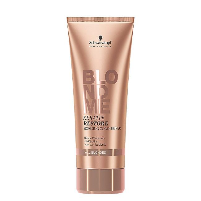 Schwarzkopf Professional Obnovující keratinový kondicionér pro blonďaté vlasy BLONDME (Keratin Restore Bonding Conditioner) 200 ml