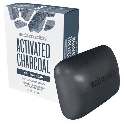 Schmidt´s Přírodní toaletní mýdlo aktivní dřevěné uhlí (Bar Soap Active Charcoal) 142 g