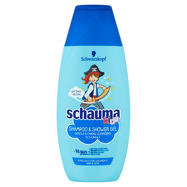 Schauma Šampon a sprchový gel Kids Boy (Shampoo & Shower Gel) 250 ml