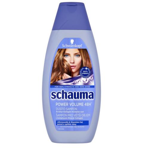 Schauma Šampon pro větší objem Power Volume 48H (Shampoo) 400 ml