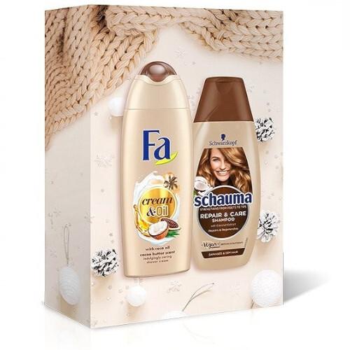 Schauma Darčeková sada starostlivosť o vlasy Repair & Care Charity Box