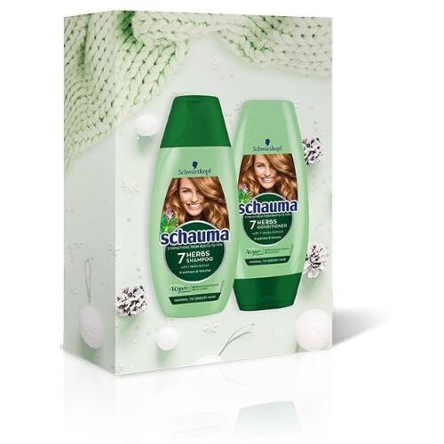 Schauma Darčeková sada vlasovej starostlivosti 7 Herbs Value Box