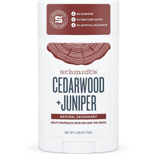 Schmidt´s Tuhý deodorant cedrové dřevo + jalovec (Signature Cedarwood + Juniper Deo Stick) 58 ml