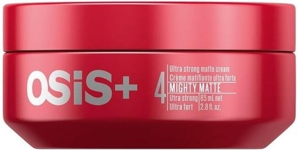 Schwarzkopf Professional Ultra silný matující krém na vlasy OSIS Mighty Matte (Ultra Strong Matte Cream) 85 ml