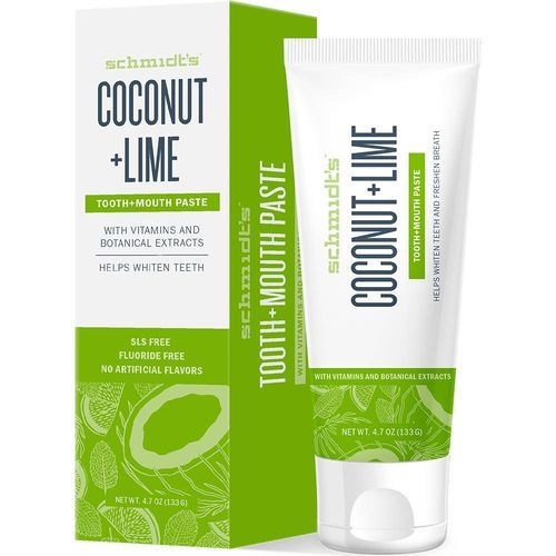 Schmidt´s Zubná pasta Coconut & Lime (Tooth   Mouth Paste) 133 g