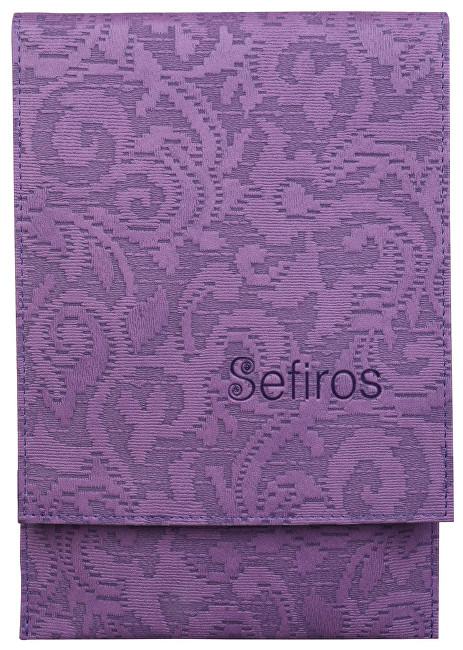 Sefiros Luxusné puzdro na kozmetické štetce fialové