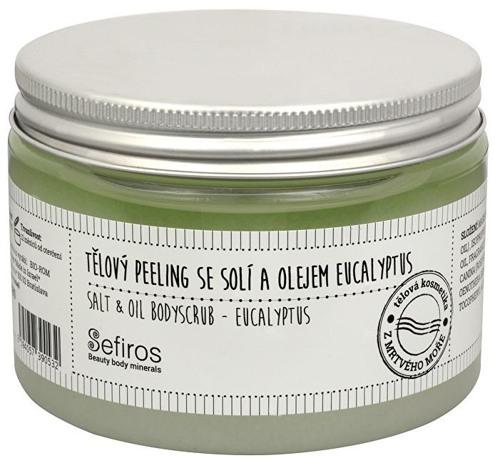 Sefiros Tělový peeling se solí a olejem Eucalyptus (Salt & Oil Bodyscrub) 300 ml