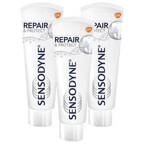Sensodyne Zubná pasta Repair   Protect Whitening 3 x 75 ml
