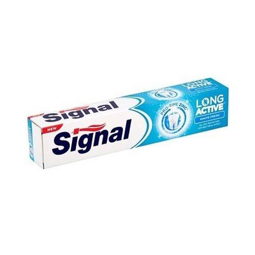 Signal Bělicí zubní pasta pro svěží dech (Long Active White Fresh) 75 ml