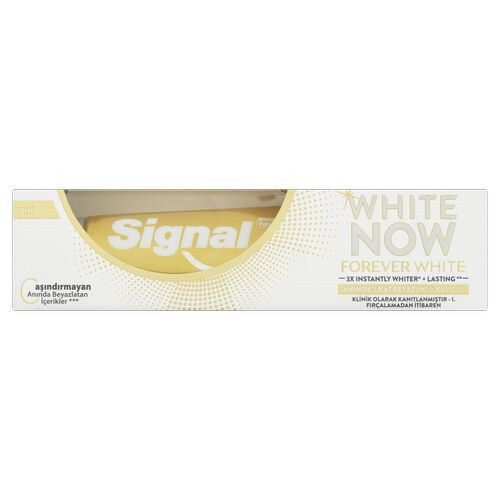 Signal Bieliace zubná pasta White Now Forever White 75 ml