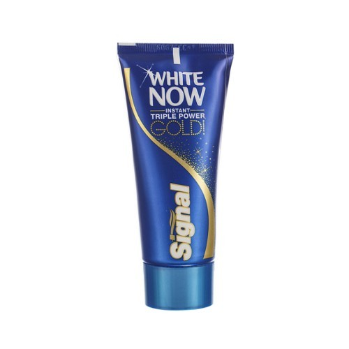 Signal Bieliace zubná pasta White Now Gold (Instant Triple Power) 50 ml