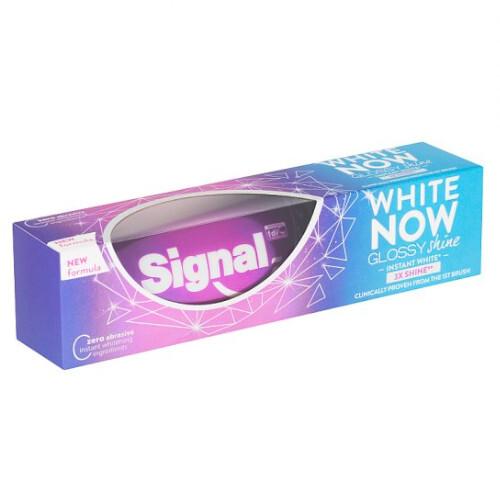 Signal Zubná pasta White Now Glossy Shine 75ml