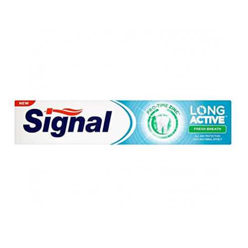 Signal Zubní pasta pro dlouhotrvající svěží dech Long Active Fresh Breath 75 ml - Duopack