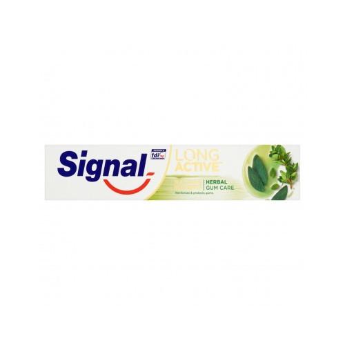 Signal Zubní pasta s olejem ze šalvěje a tymiánu Herbal Gum Care 75 ml