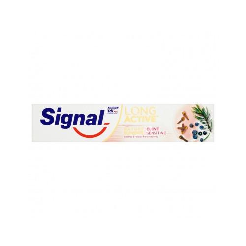 Signal Zubní pasta s přírodními oleji a minerálním zinkem Clove Sensitive 75 ml