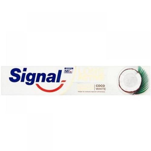 Signal Zubní pasta pro citlivé zuby Nature Coco White 75 ml - SLEVA - poničená krabička