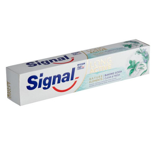Signal Zubná pasta pre svieži dych Long Active Nature Elements 75 ml