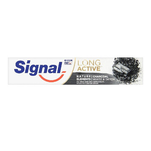 Signal Zubná pasta s bieliacim účinkom Long Active Nature Elements 75 ml