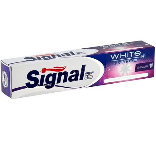 Signal Zubná pasta White System Revitalize 75 ml