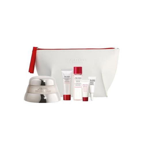 Shiseido Bio-Performance pleťový krém 50 ml + čisticí pěna 15 ml + pleťová voda 30 ml + pleťové sérum 5 ml + oční krém 3 ml + kosmetická taštička dárková sada