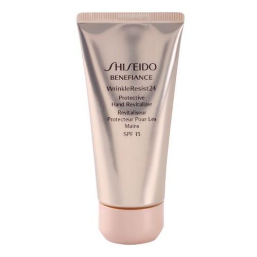 Shiseido Obnovujúci a ochranný krém na ruky Benefiance Wrinkle Resist 24 SPF 15 ( Protective Hand Revitalizer) 75 ml