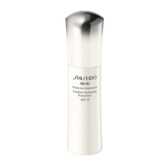 Shiseido Ochranná hydratační emulze IBUKI SPF 15 (Protective Moisturizer) 75 ml