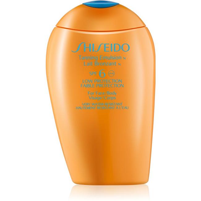 Shiseido Opalovací emulze SPF 6 Suncare (Tanning Emulsion) 150 ml
