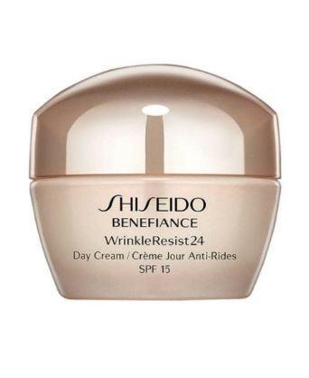 Shiseido Protivráskový denní krém Benefiance WrinkleResist 24 SPF 15 (Day Cream) 50 ml
