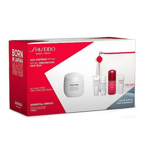 Shiseido Dárková sada pleťové péče pro ženy Essential Energy