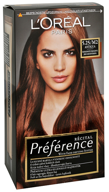 L´Oréal Paris Barva na vlasy Récital Préférence - SLEVA - poškozená krabička 6.45 Brooklyn