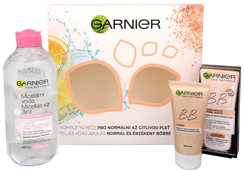 Garnier Darčeková sada pre bezchybnú pleť Skin Natura l s BB - ZĽAVA - poškodená krabička