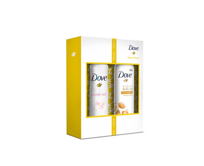 Dove Darčeková sada telové starostlivosti pre ženy Elegant Beauty - ZĽAVA - pokrčená krabička